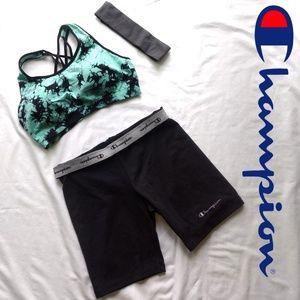🚴🏻♀️NWOT Champion bike yoga workout shorts